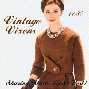 MONDAY 11/30 Vintage Vixens Sign Up Sheet